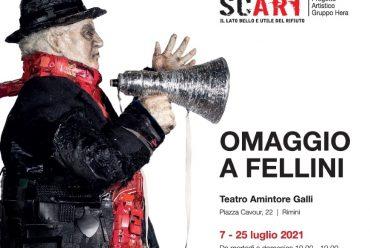 """SCART a Rimini con la mostra """"Omaggio a Fellini"""""""