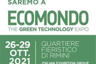 Vi aspettiamo a Ecomondo 2021